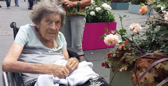 une dame centenaire