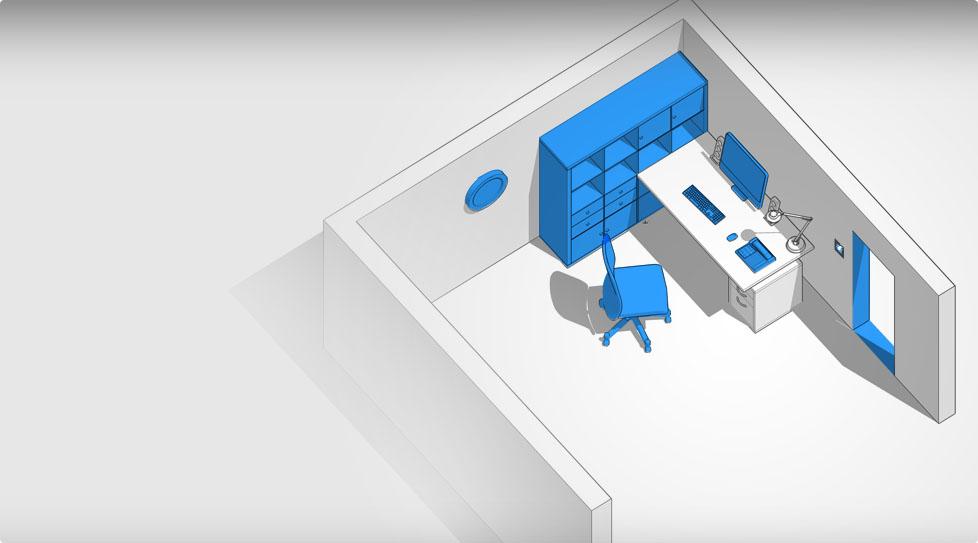 Carte interactive : Bureau