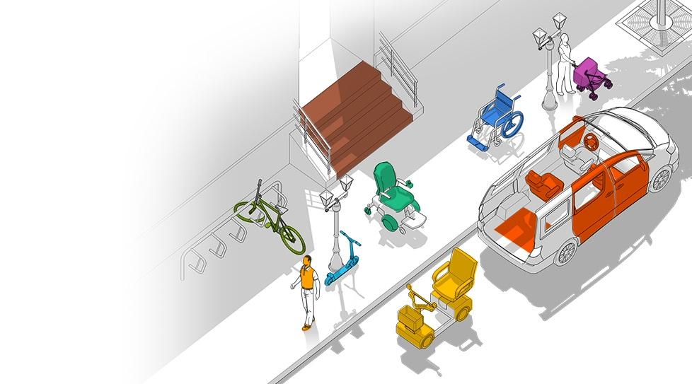 Carte interactive : Déplacement - véhicule