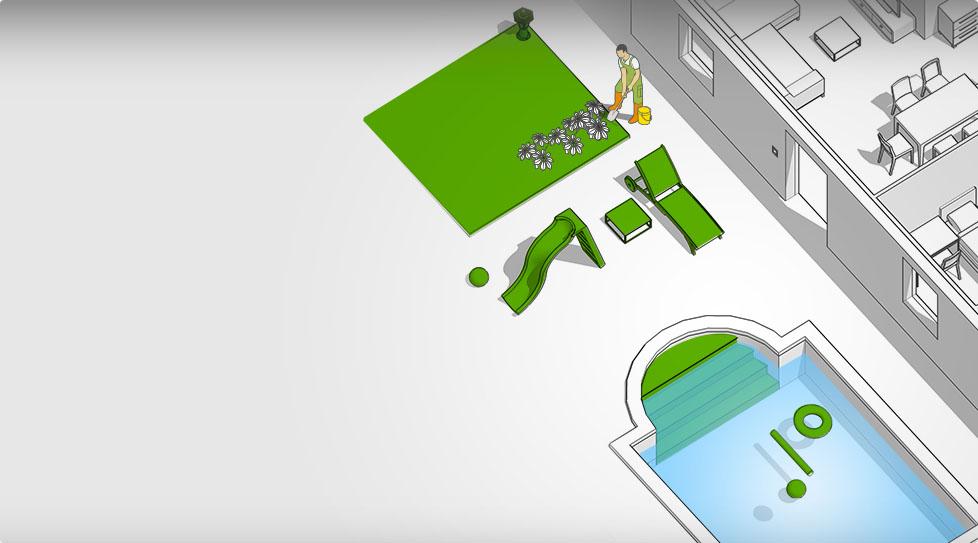Carte interactive : Jardin