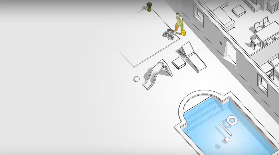 Carte interactive : Lumière / interrupteur / prise