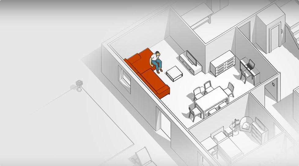 Carte interactive : Canapé / fauteuil