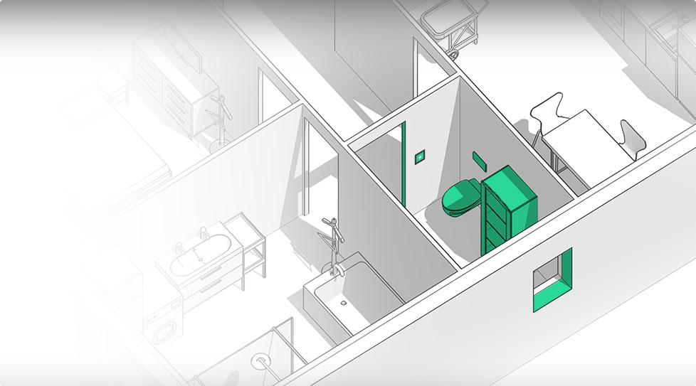 Carte interactive : Toilettes